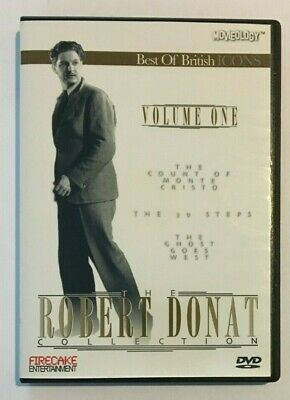 £26.14 • Buy The Robert Donat Collection Volume 1 DVD The Count Of Monte Cristo British Icons