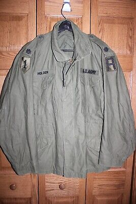 $149.95 • Buy US Military Issue Vietnam Era M-65 Field Jacket Cold Weather Coat Large A1