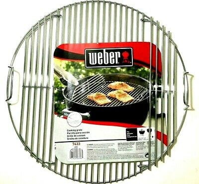 $ CDN44.05 • Buy Weber Hinged Cooking Grate 17.5  Fits 18  Charcoal Grill Grate Replacement 7433