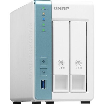 $ CDN328.76 • Buy QNAP High-performance Quad-core NAS For Reliable Home And Personal Cloud Storage