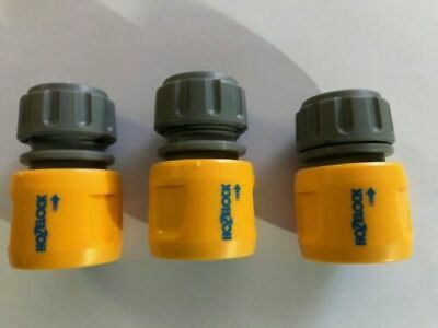£8.99 • Buy 3 X Hozelock Hose End Connector Hosepipe Fitting