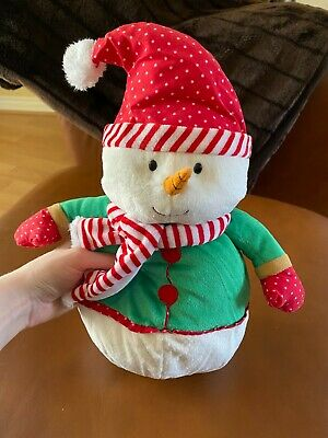 £8.50 • Buy Official TESCO Medium Chilly And Friends Chilly Snowman Plush