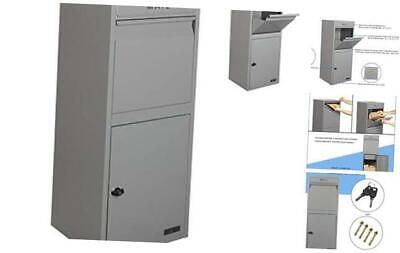 $414.62 • Buy  Package Drop Box For Secure Parcel And Mail Delivery Storage () Large