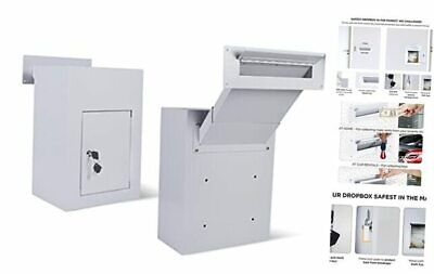 $148.57 • Buy Through The Wall Drop Box Mail Slots For Walls With Adjustable Mail Chute Anti