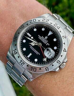 $ CDN9756.09 • Buy 2000 Rolex Explorer II 16570 Black Stainless Steel Automatic - No Box/No Papers