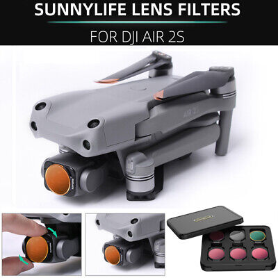 AU66.19 • Buy Professional Lens Camera Filter CPL ND/PL Filters Kit For DJI Mavic Air 2S Drone