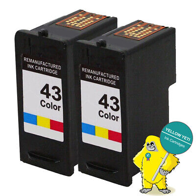 £13.10 • Buy 2 Color Ink Cartridge For Lexmark NO 44 X4850 X4875 X6570 X6575 X7550 X9350