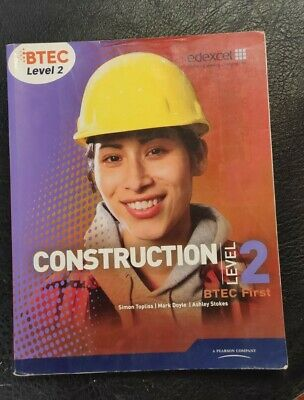 £5 • Buy Btec Level 2 First Construction Study Gu By Topliss