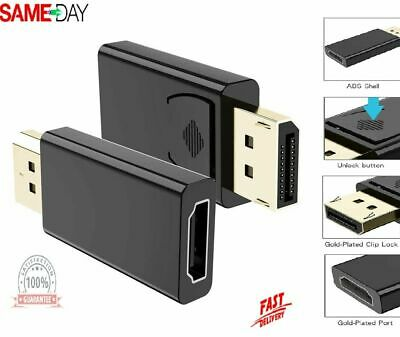 £3.59 • Buy 4K HD Display Port DP Male To HDMI Female Adapter Converter For Lenovo Dell HP