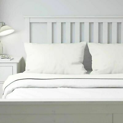£43.62 • Buy Ikea PUDERVIVA Full Double Sheet Set ( Flat, Fitted & 2 Pillowcases ) 100% Linen