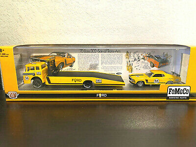 $39.95 • Buy M2 MACHINES Auto Haulers 1970 Ford C-600 Truck & 1970 Ford Mustang Boss 302 New