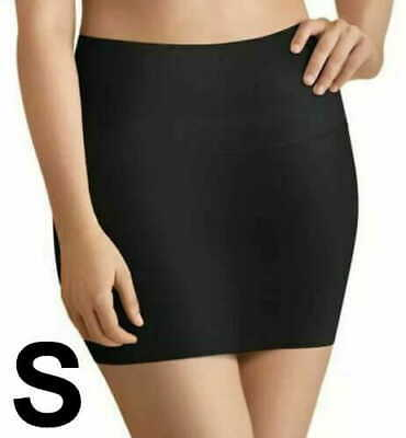 $9.40 • Buy Maidenform Flexees Half Slip Shapes Firm Small Black Shaper Cotton Gusset S New