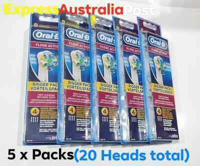AU90 • Buy Oral-B Floss Action Electric Toothbrush Replacement Head = 20 Refill Brushes