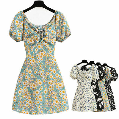 £9.85 • Buy Vintage Ladies Womens Summer Mini Dresses Party Cocktail Sweetheart Dress 8-14