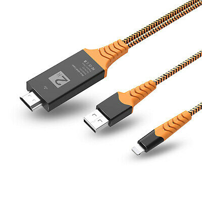 £8.89 • Buy 8 PIN Connect To HDMI 1080P TV AV Cable Adapter For IPhone X XS 12 8 7 IPad