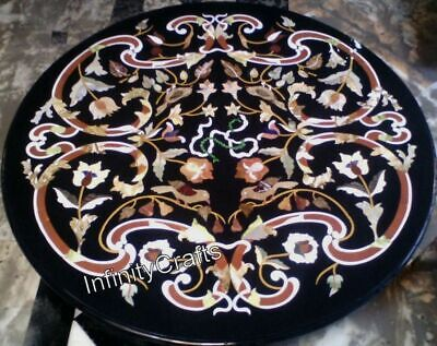 AU4190.97 • Buy 48 Inches Marble Dining Table Top Unique Design Inlaid Center Table For Home
