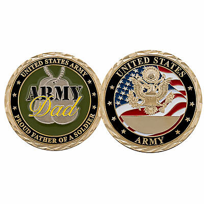 £12.31 • Buy Challenge Coin U.S. ARMY PROUD DAD CHALLENGE COIN