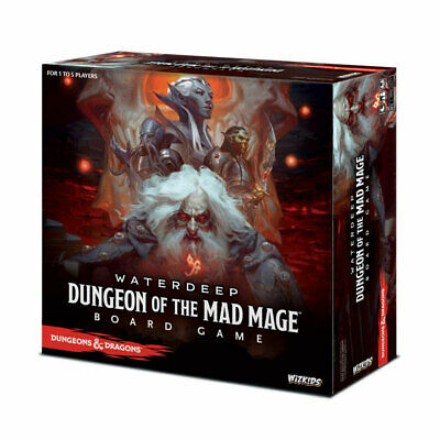 AU120.25 • Buy Dungeons & Dragons: Dungeon Of The Mad Mage Board Game