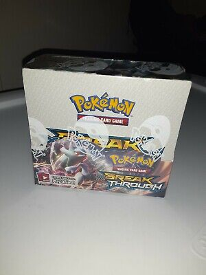 $600 • Buy Pokemon Trading Card Game XY8 Breakthrough Booster Box - Pack Of 36