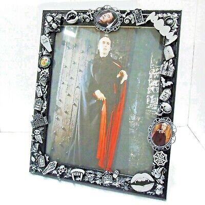 £24.99 • Buy DRACULA THEMED PHOTO FRAME Picture Christopher Lee Goth Gothic Horror Vampire