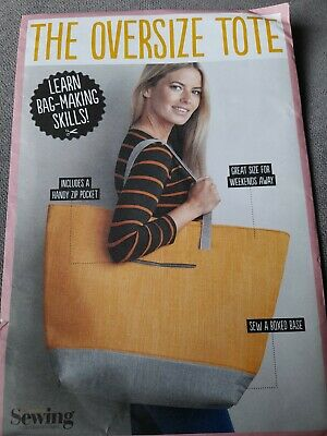 £3.99 • Buy SIMPLY SEWING - THE OVERSIZE TOTE BAG  SEWING PATTERN Uncut