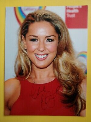 £12.99 • Buy CLAIRE SWEENEY Hand Signed 8 X 6 Photo Autograph Loose Women & Brookside Actress