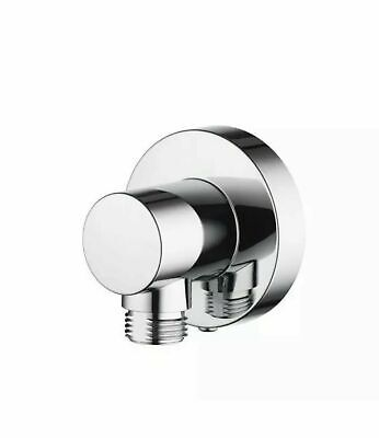£18 • Buy Aqualisa Options Push Fit Round Wall Outlet Chrome OPN7004