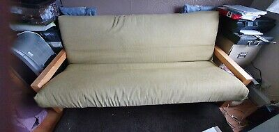 £125 • Buy Futon Three Seater: Converts To Double Bed: Futon Company