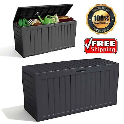£49.99 • Buy Keter XL Large Storage Shed Garden Outdoor Box Lockable Outside Box With Wheels