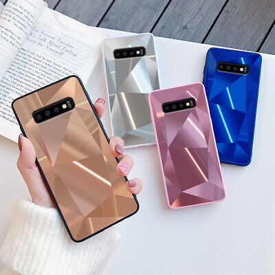 £4.29 • Buy Bling 3D Mirror Case Slim Protective Phone Cover For Samsung S20 Ultra S10 S9 S8