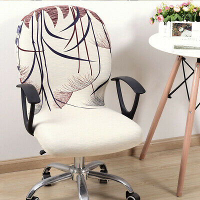 AU10.69 • Buy Computer Chair Cover Stretch Removable Office Washable Seat Slipcover Protector