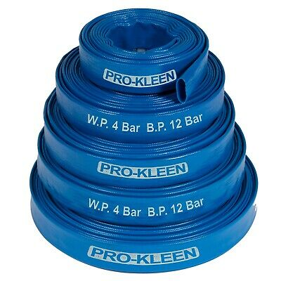 £19.95 • Buy Layflat Hose PVC Flood Drainage Discharge Submersible Dirty Water Pump Lay Flat