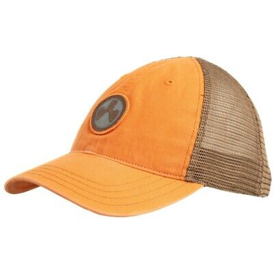 $27.50 • Buy Magpul Icon Patch Garment Washed Trucker Hat Orange/Brown One Size Fits Most