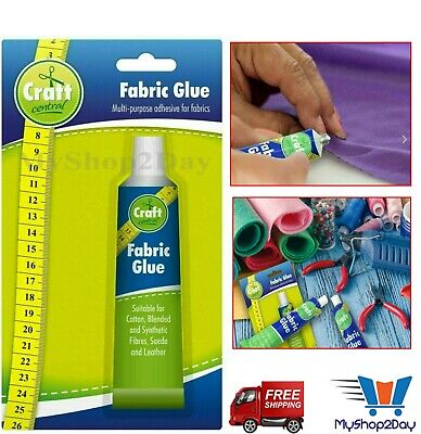 £2.99 • Buy Extra Strong Fabric Glue 50ml Quick Bond Washable, Textile Sewing Hemming Repair