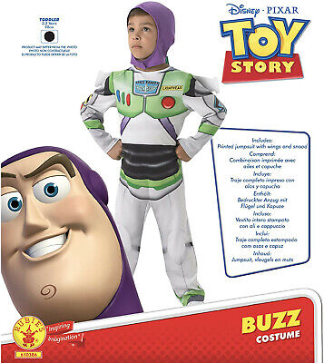 £16.99 • Buy Rubie's Official Toy Story Classic Buzz Lightyear Costume - Toddler Approx 2-3yr
