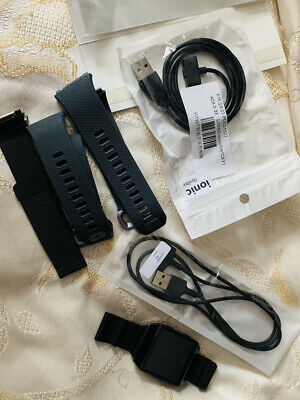 $ CDN94.52 • Buy Fitbit Ionic Grey With Full Accessories RRP £119.99 Hardly Worn Refurbished