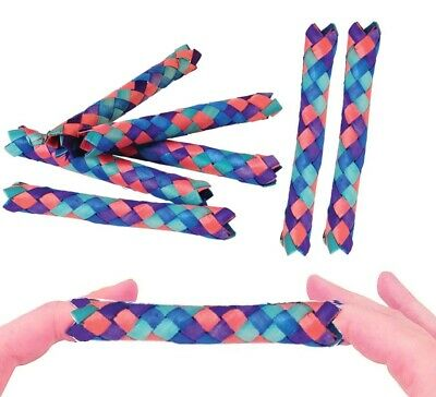 £3.62 • Buy  Classic Bamboo Chinese Finger Traps (5 ) For Kids And Adults. (12 Pack)