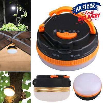 AU14.95 • Buy 5LED USB Night Light Outdoor Lantern Tent Rechargeable Camping Lights Portable