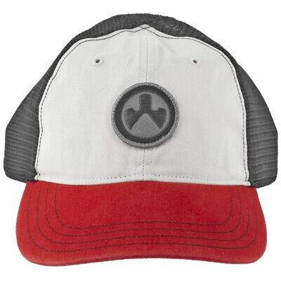 $27.50 • Buy Magpul Icon Patch Garment Washed Trucker Hat Stone/Black/Red One Size Fits Most