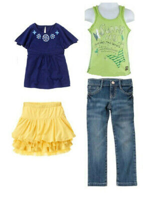 $5.99 • Buy Gymboree Naartjie Greek Floral Butterfly Ruffled Tank Shirts Skirts Jeans Size 6