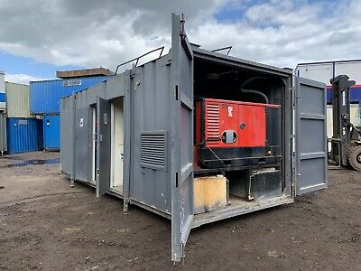 £8750 • Buy Portable Welfare Unit Site Office Cabin Container Toilet Canteen Generator
