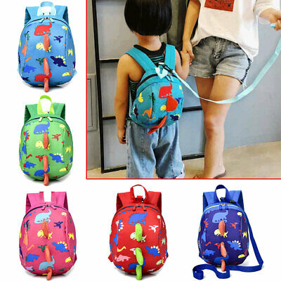 £6.99 • Buy Dinosaur Cartoon Safety Harness For Kids Bag With Strap Toddler Backpack Reins