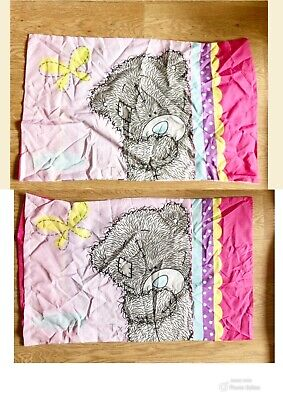 £4 • Buy 1 X Standard TATTY TEDDY ME TO YOU TED Pink Pillowcase Character Pillow Case