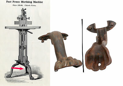 £116.51 • Buy Orig. Rear Leg, Bolts & Nuts For  W.F. Barnes Foot Mortise Machine- Mjdtoolparts