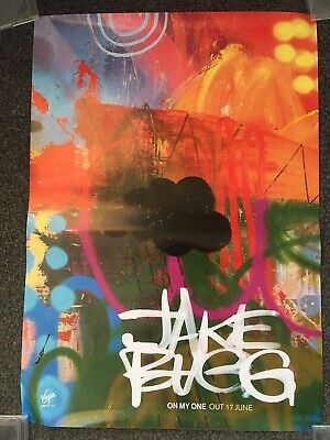 £14.99 • Buy Jake Bugg - Music Promo Poster - On My One Album - Official & Original Issue