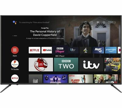 £519.99 • Buy LOGIK L65AUE21 Android TV 65  Smart 4K Ultra HD HDR LED TV With Google Assistant