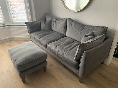 £1200 • Buy 4 Seater Sofa And Footstool RRP £1900