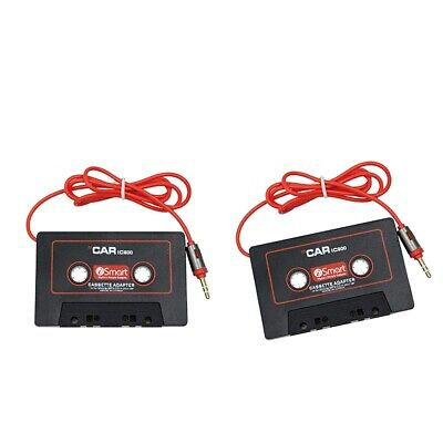 £6.51 • Buy 2 Car Cassette Adapter (for Smartphones / MP3 / CD Players /  / Tablets On The