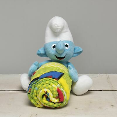 £3.66 • Buy  Sleepy Smurf  The 14in Throw Blanket And Pillow Set By The Smurfs