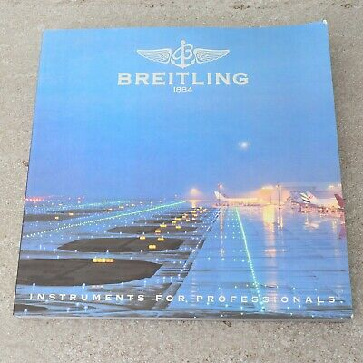 £19.74 • Buy Breitling Catalog 2006 Instruments For Professionals Pre-Owned Authentic Book